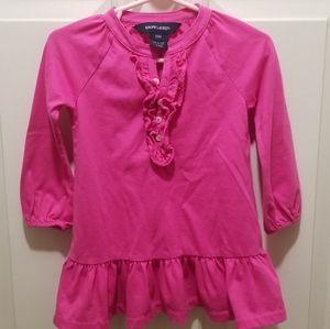 Ralph Lauren toddle girl 18m dress shirt